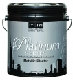 Platinum Series Metallic Plaster